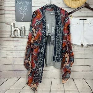 Beautiful long floral print scarf/wrap
